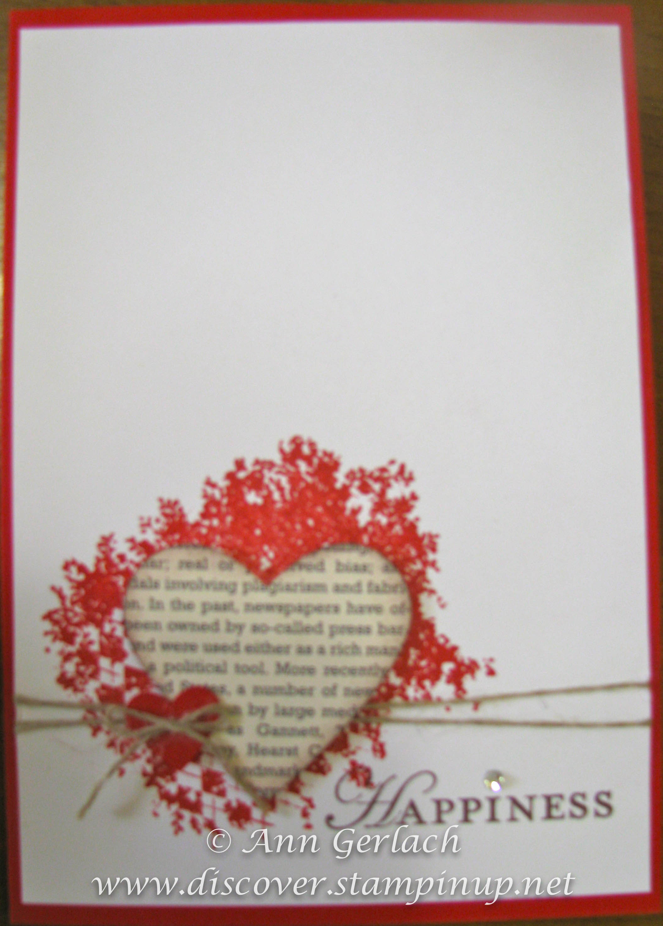 Clockworks Engagement Card Discover Ink Ann Gerlach Independent