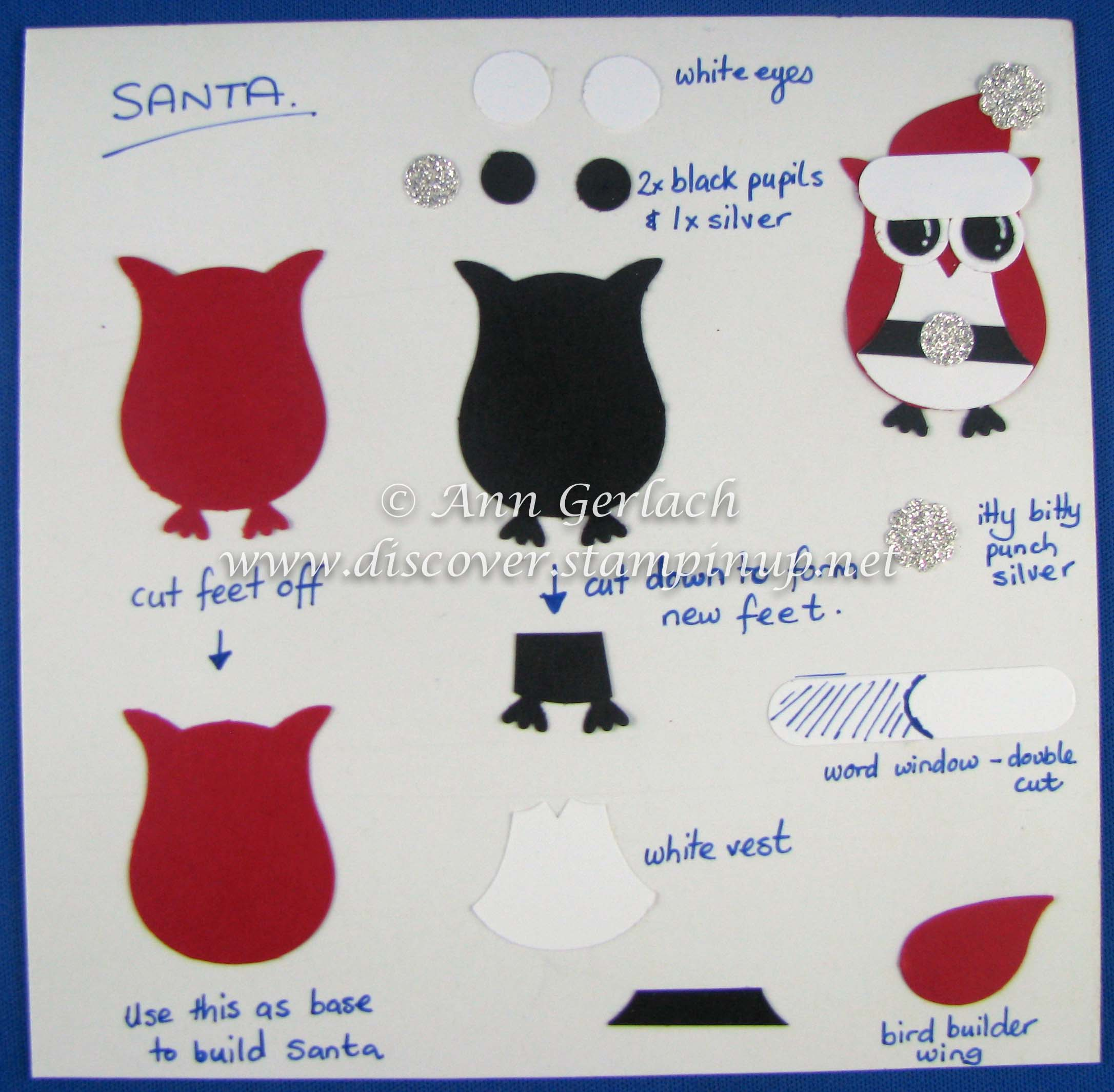 Owl Punch Santa Tutorial Discover Ink Ann Gerlach Independent